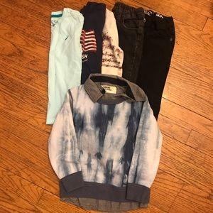 Boys 6PC Lot Outfits Sz 4T